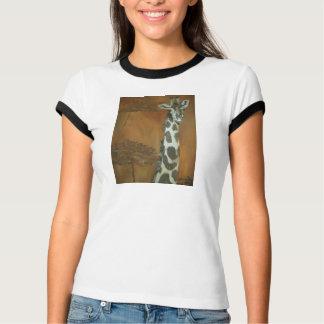 T-shirt africain de girafe ! ! !