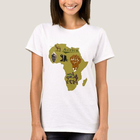T-shirt afrique continent