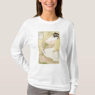T-shirt Agenouillement de courtisane