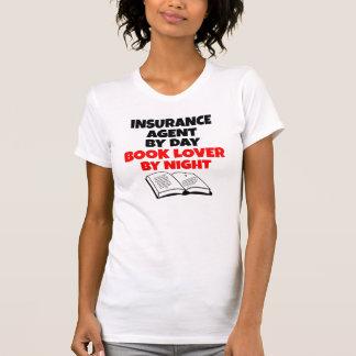 T-shirt Agent d'assurance d'amoureux des livres