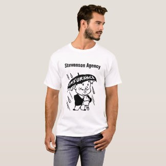 T-shirt Agent d'assurance ou agence de personnaliser
