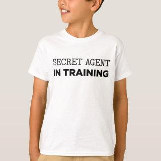 T-shirt Agent secret dans la formation