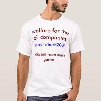 T-shirt aide sociale pour les compagnies,