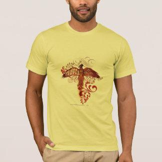 T-shirt Ailes de diffusion de Fawkes