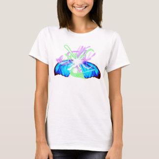 T-shirt Ailes de papillon de Bustin