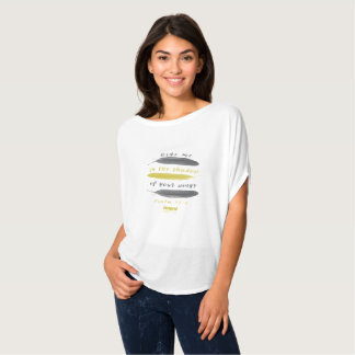 T-shirt Ailes - psaumes 17,8
