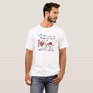 T-shirt Aimez-le quand vous tenez ma main