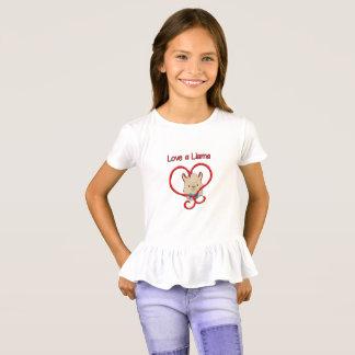 T-shirt Aimez un lama