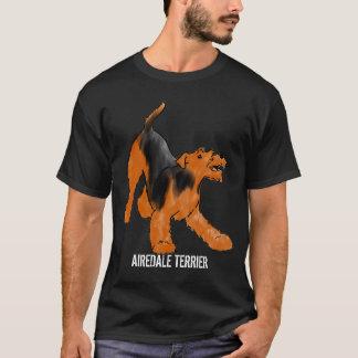 T-shirt Airedale espiègle Terrier