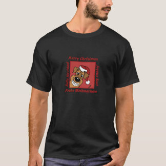 T-shirt Airedale Noël
