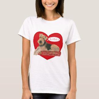 T-shirt Airedale, Région des lacs, gallois Terrier
