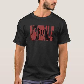 T-shirt Airedale, roi des terriers, silhouette