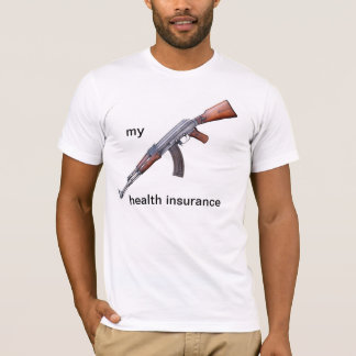 T-shirt AK-47 est mon assurance maladie