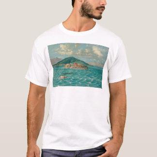 T-shirt Alcatraz dans la Baie de San Franciso (1856A)