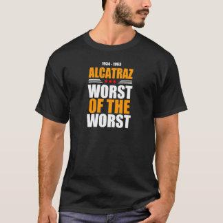 T-shirt AlCatraz le plus mauvais du plus mauvais