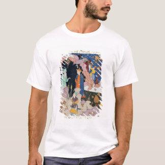 T-shirt Alexandre rend visite à un ermite