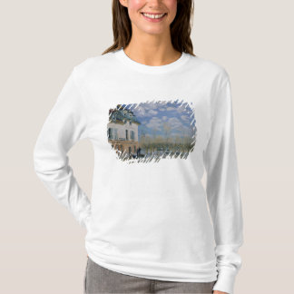 T-shirt Alfred Sisley | le bateau dans l'inondation,