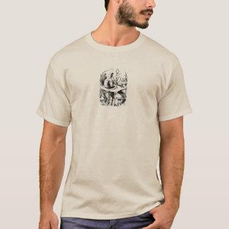 T-shirt Alice au pays des merveilles : Caterpillar