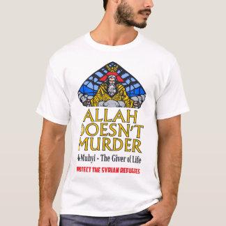 T-shirt Allah n'assassine pas - protégez les réfugiés
