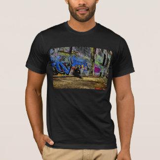 T-shirt Allée de graffiti