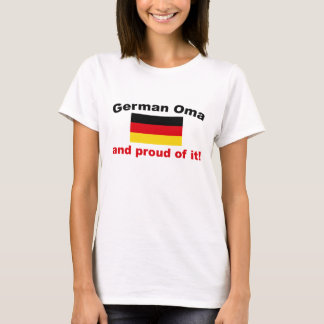 T-shirt Allemand fier Oma