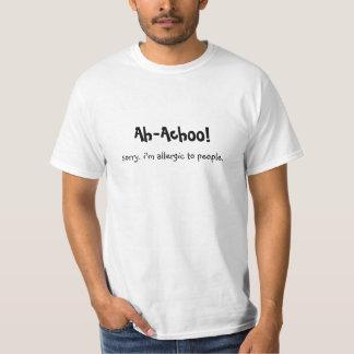 T-shirt Allergique aux gens