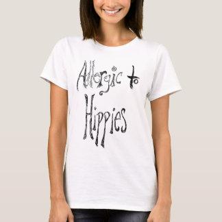 T-shirt Allergique aux hippies