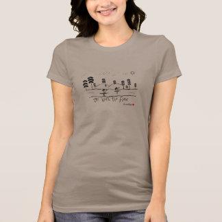 T-shirt Allez de pair avec le voyage de flotteur de