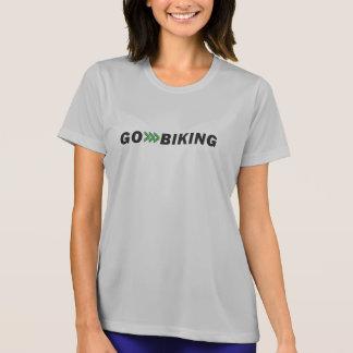 T-shirt Allez faire du vélo la chemise de concurrent du