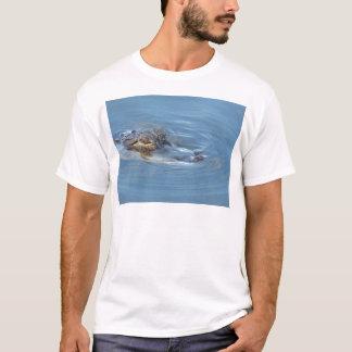 T-shirt Alligator dans le lac