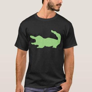 T-shirt Alligator vert