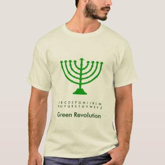T-shirt Allumez une bougie VERTE