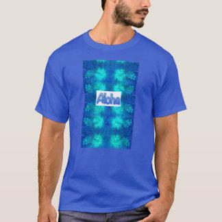 T-shirt Aloha bleu de ketmie