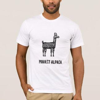 T-shirt Alpaga de projet
