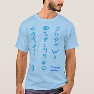 T-shirt Alphabet phénicien