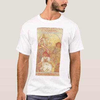 T-shirt Alphonse Mucha - chemise 1913 d'exposition