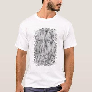 T-shirt Altitude de la tour de la cathédrale de Laon
