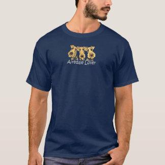 T-shirt Amant d'Airedale