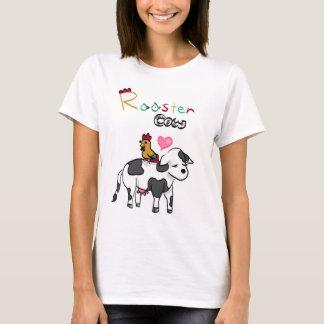 T-shirt Amants chinois RoosterxOx de zodiaque
