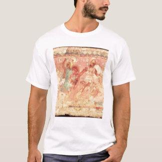 T-shirt Amazone combattant un guerrier grec