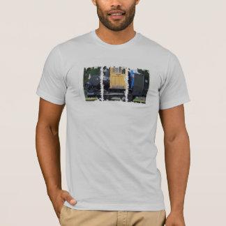 T-shirt américain affligé d'habillement de boîtes