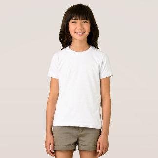 T-shirt américain de base d'habillement de filles