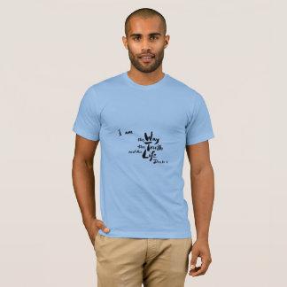 T-shirt américain de vers de bible d'habillement