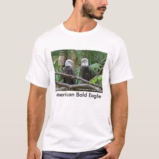 T-shirt américain d'Eagle chauve