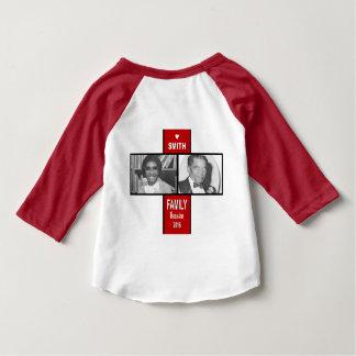 T-shirt américain d'habillement de bébé