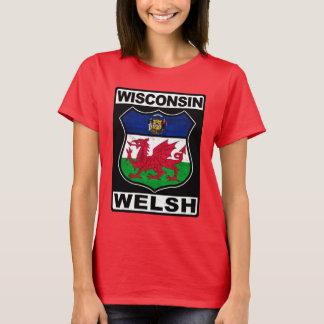 T-shirt Américain du Wisconsin Gallois