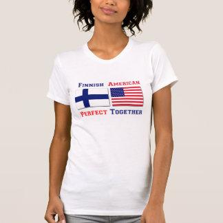 T-shirt Américains finlandais se perfectionnent