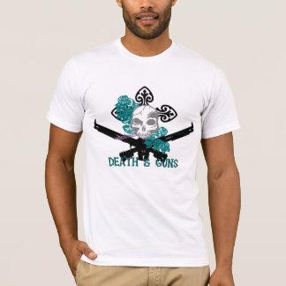 T-shirt American Apparel Death & Guns colored