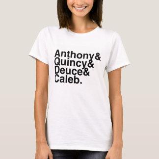 T-shirt Ami Anthony, Quincy, deux, Caleb de livre