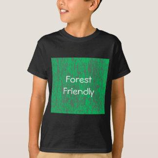 T-shirt amical de forêt